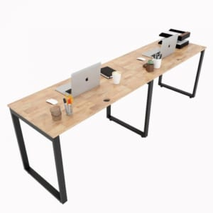 Chân sắt lắp ráp bàn cụm 2 nối tiếp 60x240cm hệ Rectang HCRT024