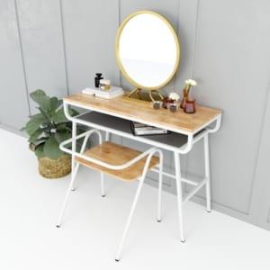 BTD68030 - Bộ bàn ghế trang điểm COZY