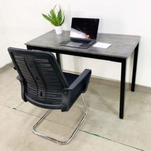 CB68065 - Combo bàn làm việc UConcept và ghế chân quỳ