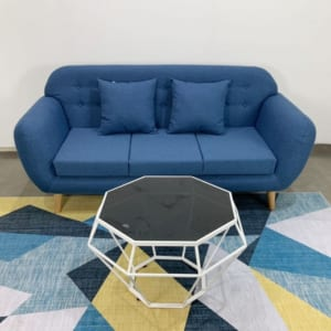 SFB68035- Ghế Sofa băng NAVA 180x80 ( Xanh dương)