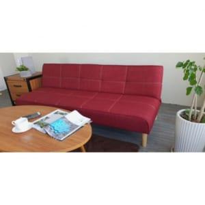 Sofa giường đa năng màu đỏ 168x86x33cm SFG68021