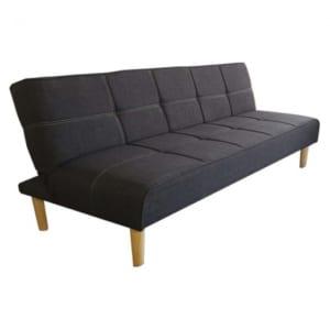 Sofa giường màu xám đen 168x86x33cm SFG68018